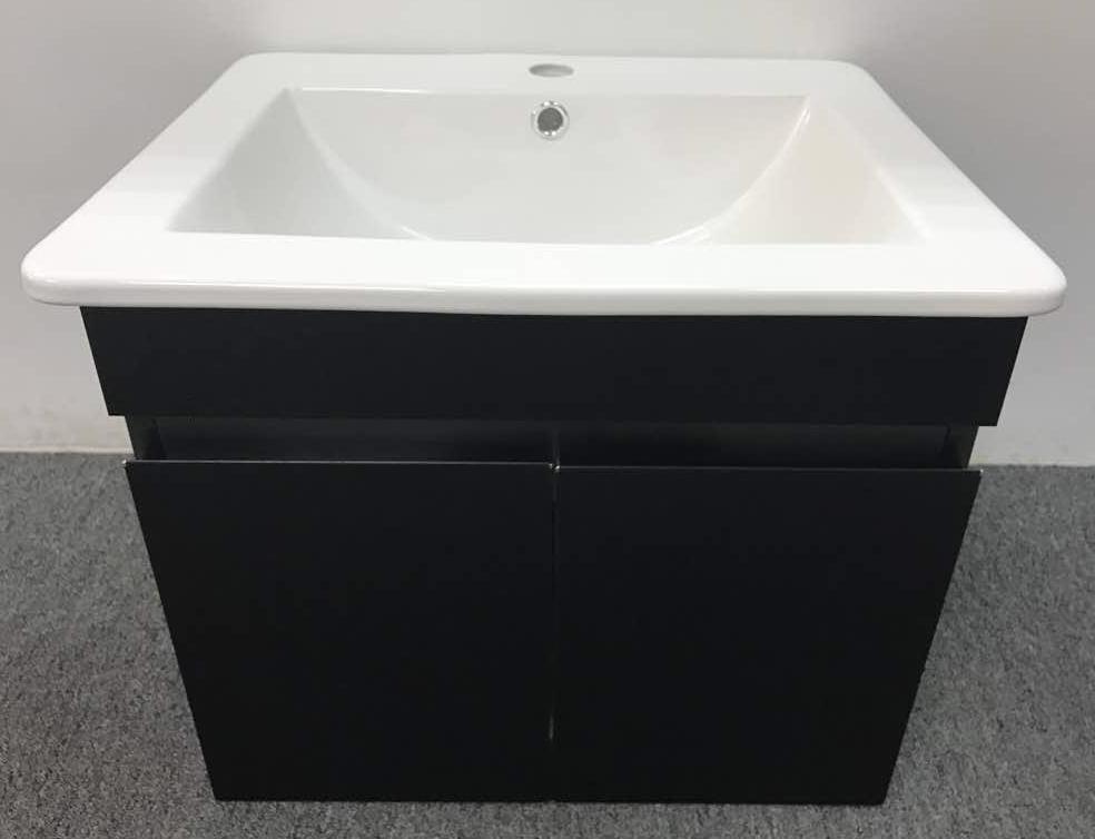 g ferretti stainless steel wall mount basin cabinet klass 799 black