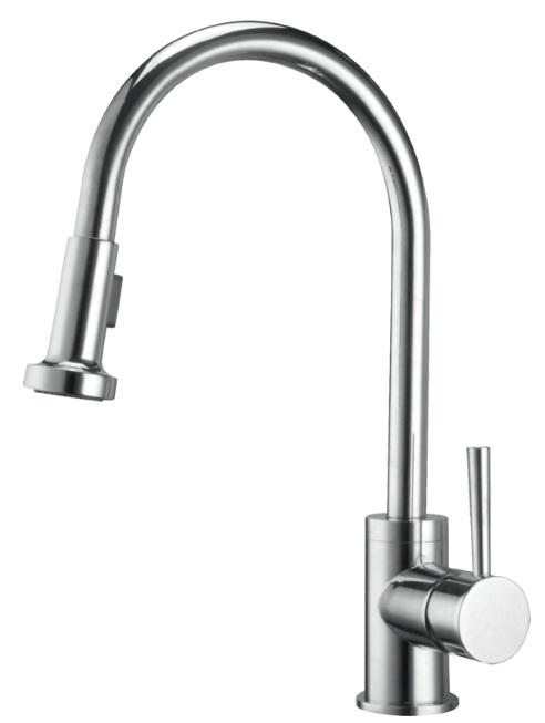 El Pull Out Kitchen Sink Mixer Vs 4021