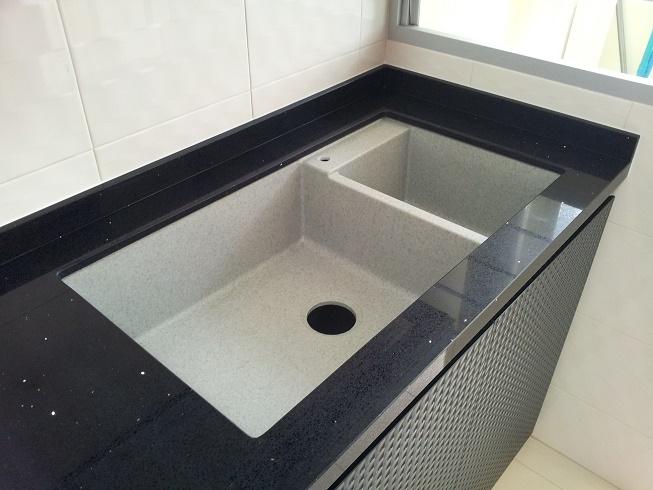 Rubine Stainless Steel Round Sink 1 Bowl Undermount