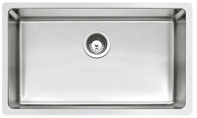 Rubine Stainless Steel Undermount Kitchen Sink Fox 810 75u