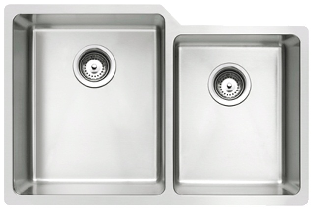 RUBINE Stainless Steel Undermount Kitchen Sink FOX 860 78L U